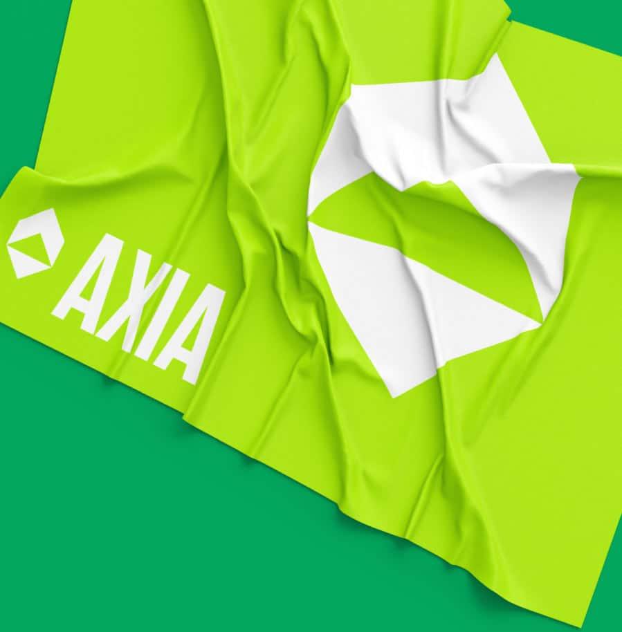 Green AXIA flag