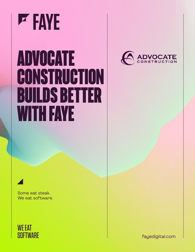 Advocate Construction Case Study