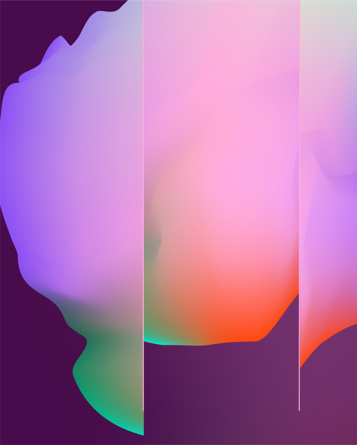 Abstract background shape